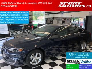 Used 2016 Chevrolet Malibu LS+Bluetooth+Apple & Android CarPlay+Camera for sale in London, ON