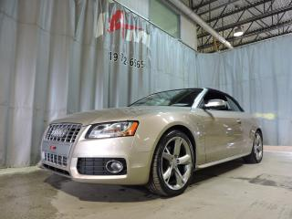 Used 2010 Audi A5 Cabriolet 2.0L Premium for sale in Rouyn-Noranda, QC
