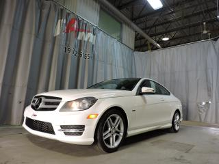Used 2012 Mercedes-Benz C-Class C250 **Toît Pano**Cuir**Mags**Coupe** for sale in Rouyn-Noranda, QC