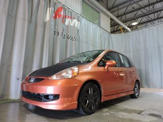 Used 2008 Honda Fit Sport **Mags**Automatique** for sale in Rouyn-Noranda, QC