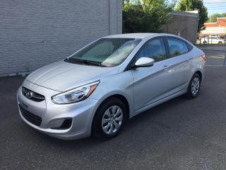 Used 2016 Hyundai Accent Berline 4 portes, boîte automatique, GL for sale in Drummondville, QC