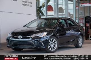 Used 2015 Toyota Camry XLE - V6 CAMRY V6! VÉHICULE RARE! TRÈS ÉQUIPÉ! CUIR! GPS! BLUETOOTH! MAGS! TOIT OUVRANT! BAS KILOMÉTRAGE! for sale in Lachine, QC
