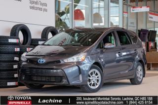 Used 2015 Toyota Prius V BASE VOITURE TRÈS RECHERCHÉE! BLUETOOTH! MAGS! CAMÉRA DE RECUL! AIR CLIMATISÉ! SUPER PRIX! FAITES VITE! for sale in Lachine, QC