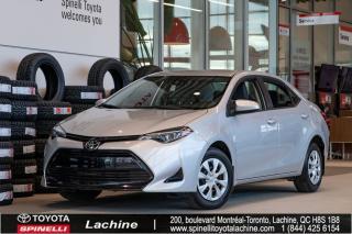 Used 2017 Toyota Corolla CE SUPER PROPRE! BLUETOOTH! AIR CLIMATISÉ! UN PROPRIÉTAIRE! SUPER PRIX! FAITES VITE! for sale in Lachine, QC