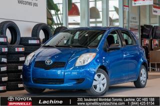 Used 2007 Toyota Yaris BASE **VÉHICULE VENDU TEL QUEL**UN PROPRIÉTAIRE! BAS KILOMÉTRAGE! SUPER PRIX! FAITES VITE! for sale in Lachine, QC
