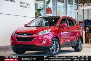 Used 2015 Hyundai Tucson GLS - AWD SIÈGES CHAUFFANT! BLUETOOTH! MAGS! TOIT PANO! DÉMARREUR À DISTANCE! CAMÉRA! FAITES VITE! for sale in Lachine, QC