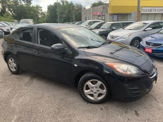 Used 2010 Mazda MAZDA3 AUTO/ SUNROOF/ BLUETOOTH/ PWR GROUP/ ALLOYS! for sale in Scarborough, ON