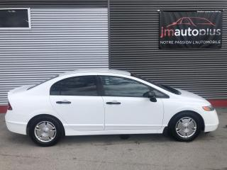 Used 2008 Honda Civic 4 portes, boîte manuelle, DX-G for sale in Québec, QC