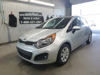 Used 2013 Kia Rio 2013 Kia Rio - 5dr HB Man LX+ for sale in St-Raymond, QC