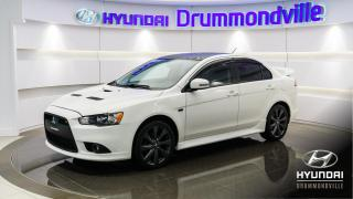 Used 2015 Mitsubishi Lancer RALLIART AWC + GARANTIE + TC-SST + MAGS for sale in Drummondville, QC