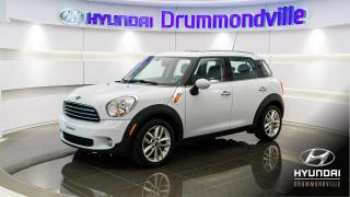Used 2012 MINI Cooper Countryman COUNTRYMAN  + MAGS + FOGS + A/C + WOW !! for sale in Drummondville, QC