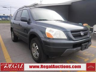 Used 2005 Honda Pilot EX 4D Utility AWD for sale in Calgary, AB