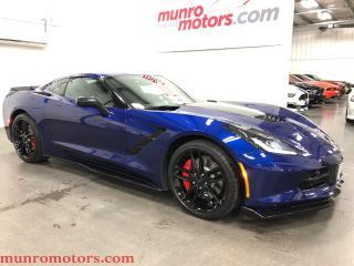 Used 2017 Chevrolet Corvette Z51 Coupe w-2LT Navigation PDR Carbon Fiber for sale in St. George Brant, ON