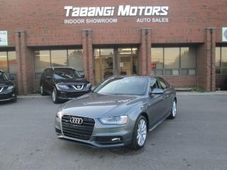 Used 2015 Audi A4 PROGRESSIVE - NO ACCIDENTS - S-LINE - NAVIGATION - LEATHER for sale in Mississauga, ON