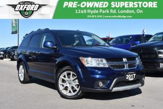 Used 2017 Dodge Journey GT - One Owner, Roof Rack, Sunroof for sale in London, ON