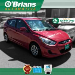 Used 2016 Hyundai Accent GL - Accident Free! w/Heated Seats, Cruise Control, A/C for sale in Saskatoon, SK