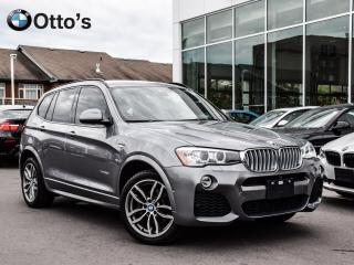 Used 2016 BMW X3 xDrive28d M SPORT, DIESEL for sale in Ottawa, ON