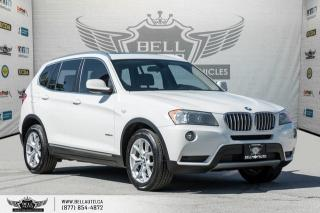 Used 2014 BMW X3 xDrive28i, AWD, NAVI, BACK-UP CAM, PANO ROOF, SENSORS for sale in Toronto, ON