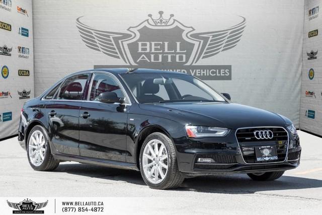 2015 Audi A4 Progressiv plus, AWD, S-LINE, NO ACCIDENT, NAVI, BACK-UP CAM