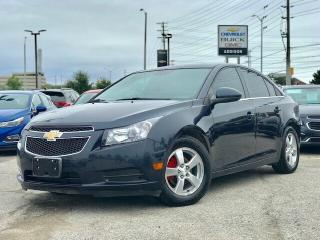 Used 2014 Chevrolet Cruze 2LT Heated Leather|Rear CAM|Remote Start|Alloys| for sale in Mississauga, ON