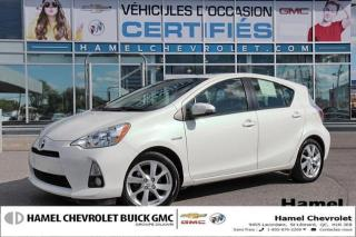 Used 2014 Toyota Prius c BLUETOOTH * RGULATEUR DE VITESSE * CUIR * MAGS for sale in St-Léonard, QC