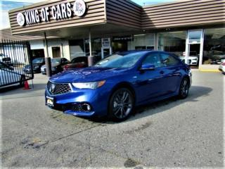 Used 2018 Acura TLX SH-AWD TECH A-SPEC for sale in Langley, BC