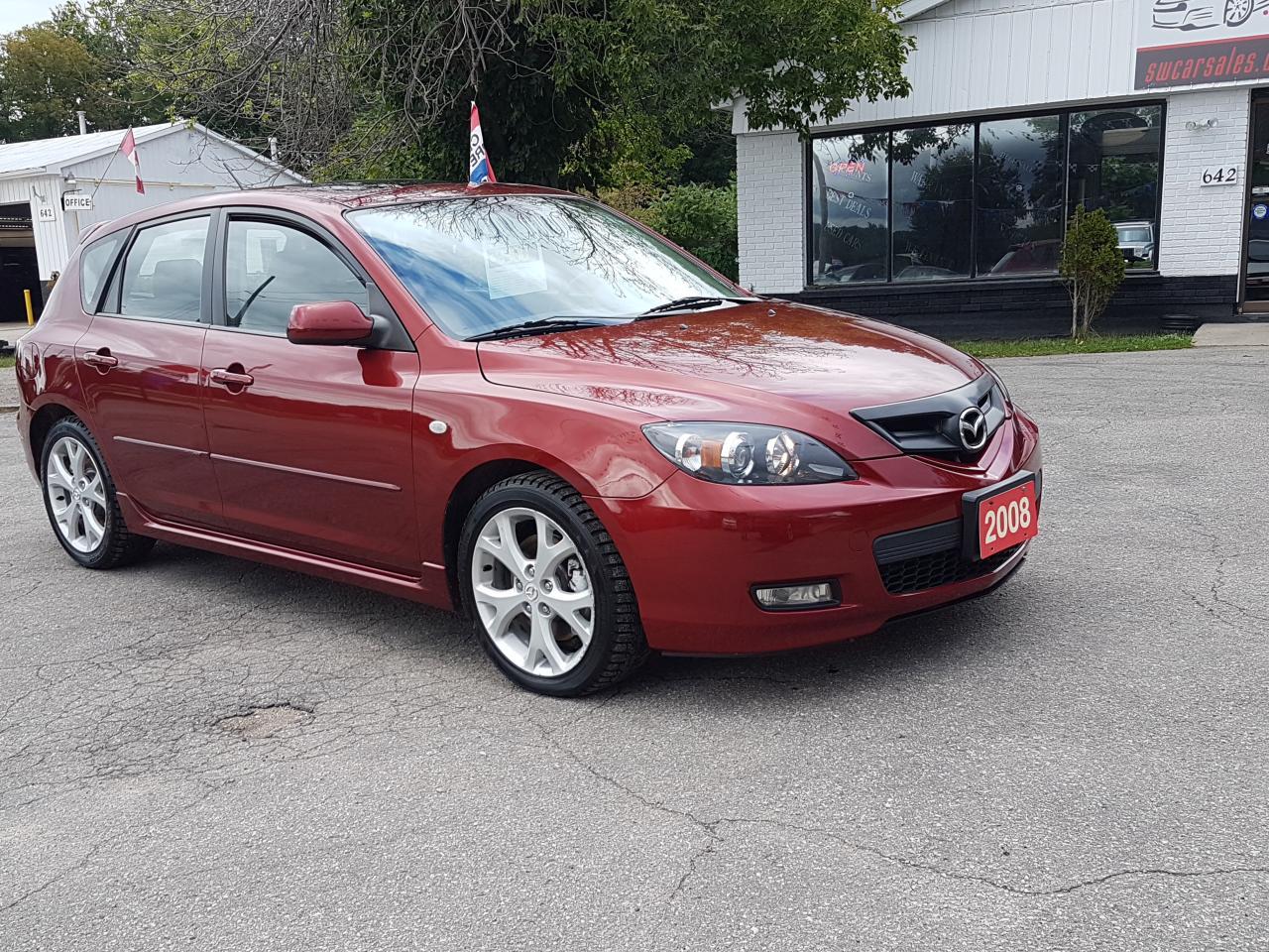 Used 2008 Mazda MAZDA3 GT for Sale in Barrie, Ontario