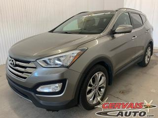 Used 2014 Hyundai Santa Fe Limited 2.0T AWD GPS Cuir Toit Panoramique MAGS for sale in Shawinigan, QC
