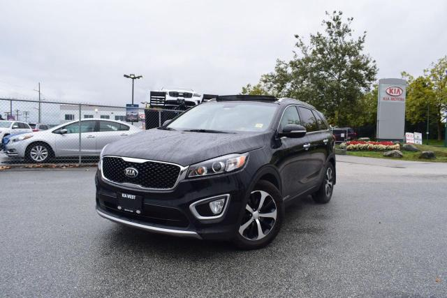 2017 Kia Sorento EX+ V6 AC/AUTO/ROOF/LEATHER/PL/P