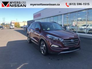 Used 2016 Hyundai Tucson Limited  - Navigation -  Leather Seats - $142 B/W for sale in Ottawa, ON
