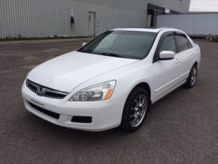 Used 2007 Honda Accord 4 portes, 4 cyl. en ligne, BA, SE for sale in Quebec, QC