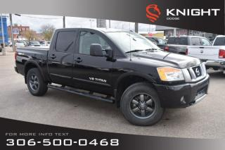 Used 2014 Nissan Titan PRO-4X | Leather | Low KMs | Heated Seats | for sale in Swift Current, SK