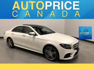 Used 2017 Mercedes-Benz E-Class NAVIGATION|PANOROOF|LEATHER for sale in Mississauga, ON