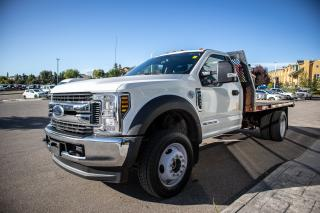 Used 2018 Ford F-550 Chassis XLT 6.7L POWERSTROKE V8 DIESEL, 4x4 Super Duty, Rubber Floor, Trailer Tow & Brake Controller for sale in Okotoks, AB