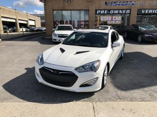 Used 2013 Hyundai Genesis Coupe 2013 Hyundai Genesis Coupe - 2dr I4 Auto Premium for sale in North York, ON