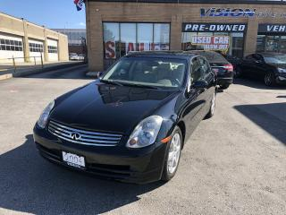 Used 2004 Infiniti G35 2004 Infiniti G35 - 4dr Sdn AWD Auto w-Leather for sale in North York, ON