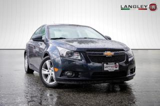 Used 2014 Chevrolet Cruze 1,120km PER TANK, DIESEL, NAVIGATION, BACK-UP CAMERA, LEATHER INTERIOR AND NO ACCIDENTS! for sale in Surrey, BC