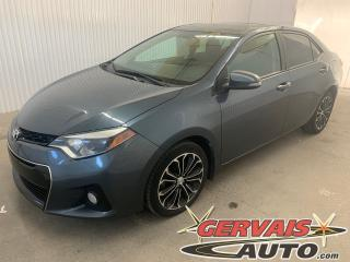 Used 2016 Toyota Corolla S Cuir /Tissus Toit Ouvrant MAGS Caméra de recul for sale in Shawinigan, QC