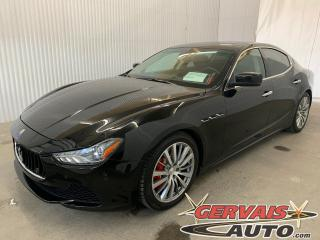 Used 2014 Maserati Ghibli S Q4 Mags GPS Cuir Toit ouvrant Caméra for sale in Trois-Rivières, QC