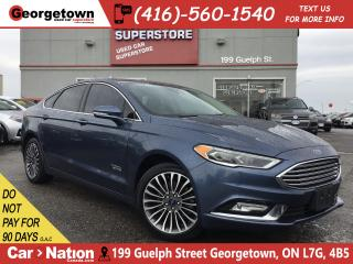 Used 2018 Ford Fusion Energi Titanium   NAVI   LEATHER   ROOF   B/U CAM   for sale in Georgetown, ON