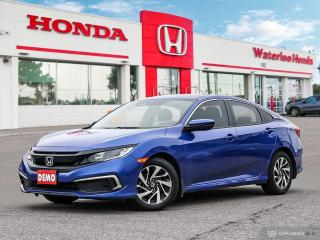 Used 2019 Honda Civic EX Demonstrator! Bluetooth, Back Up Camera and More! for sale in Waterloo, ON