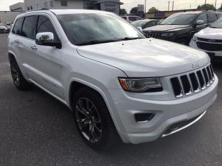 Used 2015 Jeep Grand Cherokee Overland Diesel for sale in St-Hyacinthe, QC