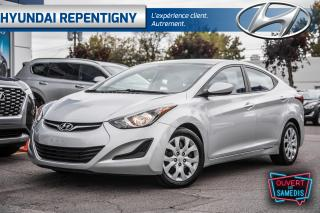 Used 2014 Hyundai Elantra 2014 Hyundai Elantra - 4dr Sdn Auto GL for sale in Repentigny, QC