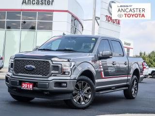Used 2018 Ford F-150 LARIAT SPORT - NAVI|SUNROOF|LEATHER|CREW for sale in Ancaster, ON