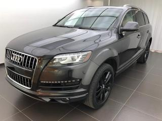 Used 2015 Audi Q7 3.0L TDI Progressiv for sale in Sherbrooke, QC