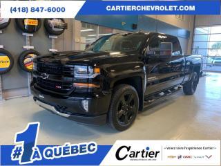 Used 2017 Chevrolet Silverado 1500 *Z71 * CREW CAB * ANTIROUILLE *4x4 for sale in Québec, QC