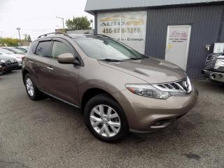 Used 2013 Nissan Murano ***SL,AWD,CUIR,TOIT PANO,MAGS*** for sale in Longueuil, QC