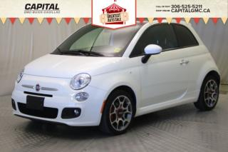 Used 2013 Fiat 500 Sport HB*LEATHER*SUNROOF* for sale in Regina, SK