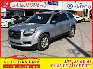 Used 2014 GMC Acadia SLE1 for sale in St-Hyacinthe, QC