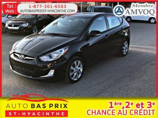Used 2012 Hyundai Accent GLS for sale in St-Hyacinthe, QC